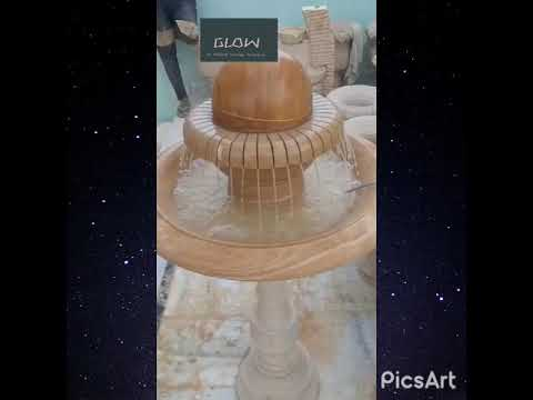 Polished Marble Indoor Fountain