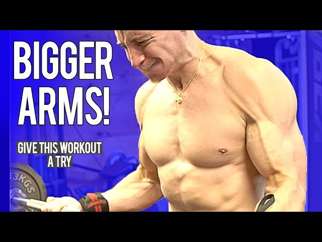 Workout For BIGGER ARMS!   Give It A Try
