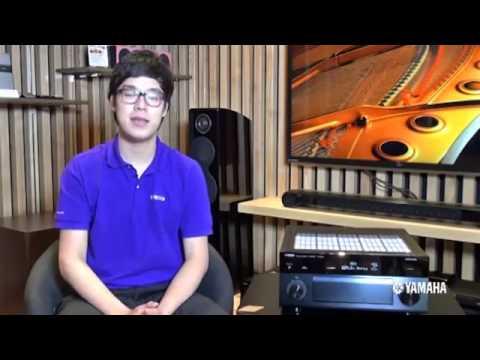 YAMAHA AV Receiver : Part 13 Selecting the sound mode