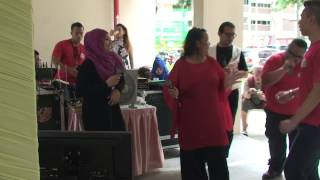 Goyang Bali  Siti Hanah   Jun  21 12 2014 Yishun Wedding Events