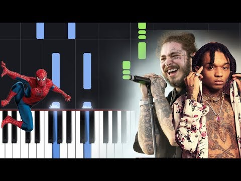 Post Malone, Swae Lee - Sunflower (Spider-Man Into The Spider-Verse) Piano Tutorial Mp3