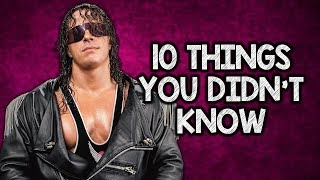 10 Things You Didn't Know About Bret Hart