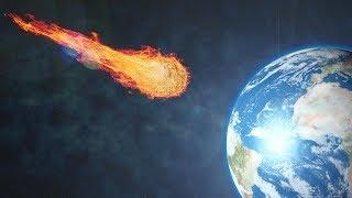 ЧТО ПРОИСХОДИТ, КОГДА МЕТЕОРИТ ПАДАЕТ НА ЗЕМЛЮ?