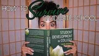 Ten Tips: How To Survive Graduate School