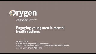 Engaging young men in mental health settings (February 2016)