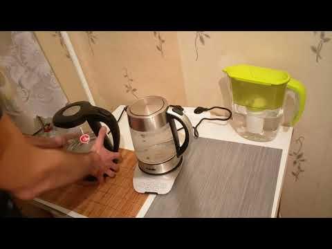 Обзор электрического чайника BBK EK 1723G / Качественный и надежный электрочайник