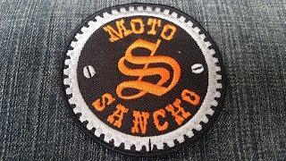 """Нашивки """"Moto Sancho"""""""