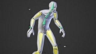 Создание простейшей анимации в Blender