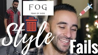 I HATE FEAR OF GOD?? STYLE FAILS OUTFIT HITS AND MISSES