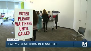 Early voting ends in Tennessee