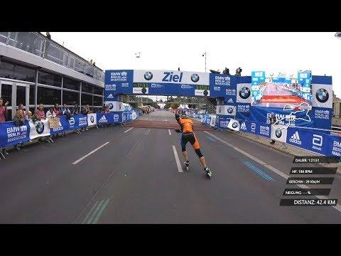 15.09.2018 - 45.BMW Berlin Marathon Inline Skating Damen Speed Block A   www.merktsports.de