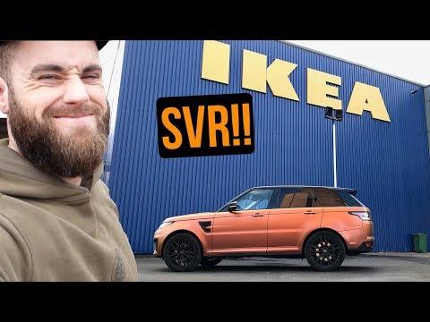 I Got A Range Rover SVR | IKEA CHALLENGE