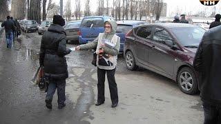 Одиночные пикеты НОД в Нижнем Новгороде Московский район 23.03.2016