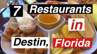 7 Restaurants In Destin FL - True Southern Accent