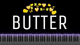 (악보) 🧈BTS - BUTTER🧈 피아노 커버