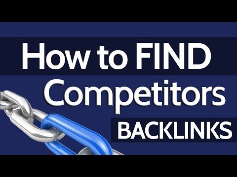 Backlinks Checker - How to Finding Your Competitors Backlinks