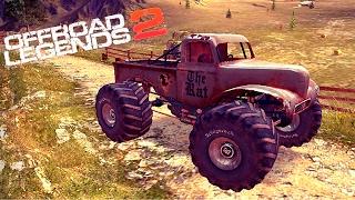 МАШИНКИ OFFROAD LEGENDS 2 гонки МОНСТР ТРАКИ игра как мультики про машинки для детей monster truck 1
