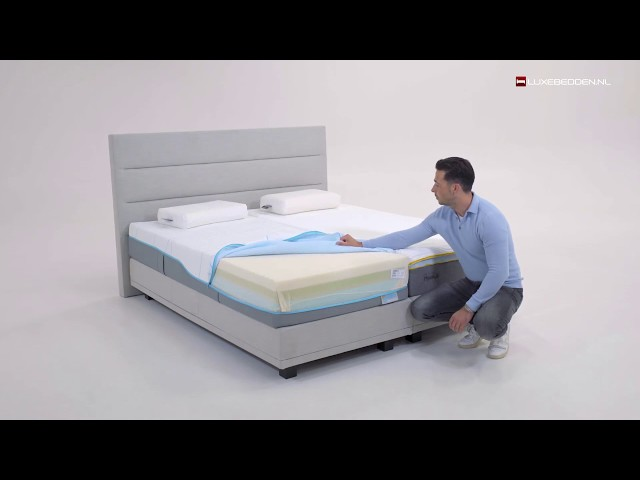 Tempur Sensation Cooltouch Elite 25 matras video