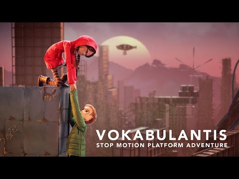 Vokabulantis is A Stop Motion Video Game Being Funded on Kickstarter