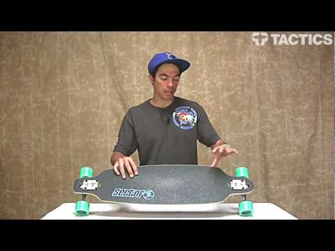 Sector 9 Fractal Sidewinder 36 Inch Drop Through Complete Longboard Review – Tactics.com