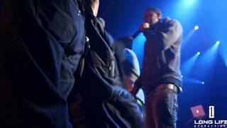 Shows Over || Ace hood || Takes a drink to the face in Montreal