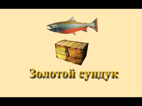 Русская Рыбалка 3.9 Золотой сундук с топью