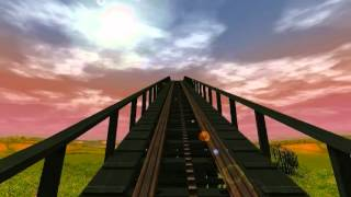 preview picture of video 'Let's Show Rollercoaster Tycoon 3 - Jungle Express Achterbahn'