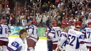 Pavel Demitra shootout Slovakia beats Russia 2010 Olympics *HD*