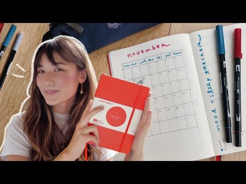 plan with me ✨setting up my first bullet journal!