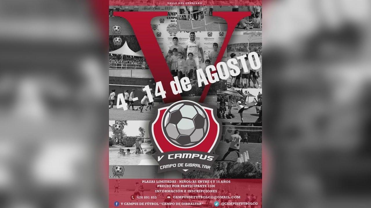 José María Pajares estará en el V Campus De Fútbol Campo De Gibraltar