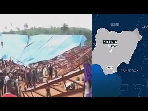 60 قتيلا على الأقل في انهيار كنيسة بنيجيريا