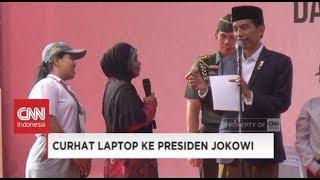 Demi Anak, Ibu Negosiasi Laptop, Daripada Sepeda dari Presiden Jokowi