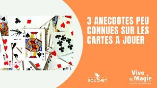 Vignette de 3 anecdotes peu connues sur les cartes à jouer