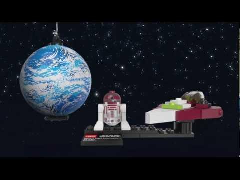 Vidéo LEGO Star Wars 75006 : Jedi Starfighter & Kamino