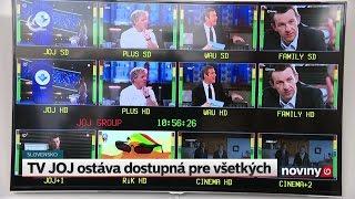 Televízne vysielanie cez anténu nekončí, TV JOJ bude naďalej zadarmo
