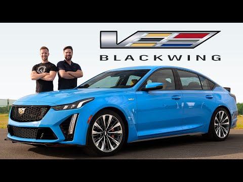 2022 Cadillac CT5-V Blackwing Review // Ultimate American Super Sedan