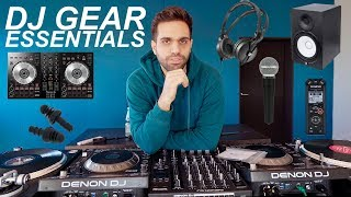 DJ EQUIPMENT ESSENTIALS - Everything Youll Need To Get Started