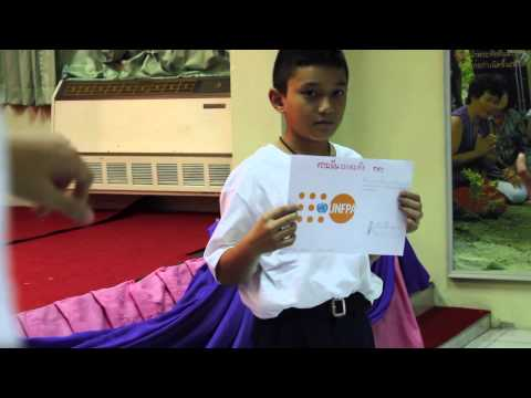 Event at Wat Somanas School: World Population Day 2014 ( 4:46 mins)