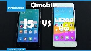 Comparison: Qmobile Noir J5 Vs Qmobile Noir LT700 Pro | Gionee P7 Vs Gionee F103 Pro