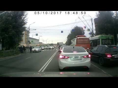 В Томске сбили ребенка на переходе