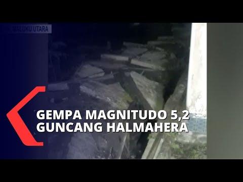 Takut Gempa Susulan, Warga Halmahera Selatan Bertahan Di Posko Darurat