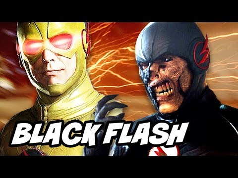 Reverse Flash vs Black Flash Scene Explained - Legends Of Tomorrow Season 2 Episode 10 TOP 10
