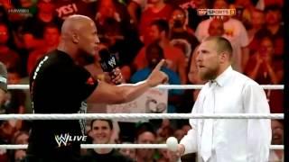 WWE RAW 1000 The Rock Returns