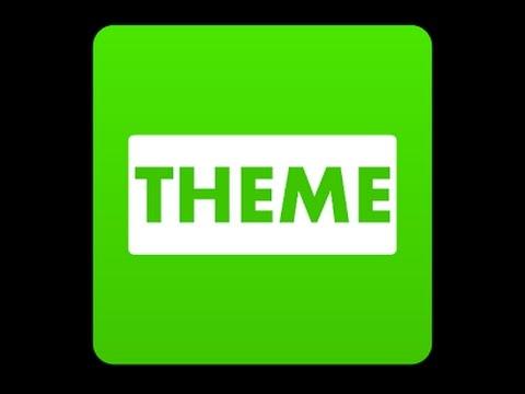 Video Cara Ubah Tema Line dengan Theme Changer