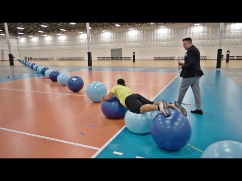 Download World Record Exercise Ball Surfing | Overtime 6 | Dude Perfect HD Mp4 3GP Video and MP3