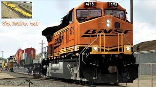 A Rare Evening in Fullerton - Amtrak Museum Train, BNSF