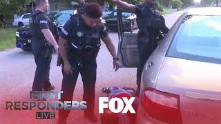 Police Apprehend A Crazed Driver | Season 1 Ep. 5 | FIRST RESPONDERS LIVE