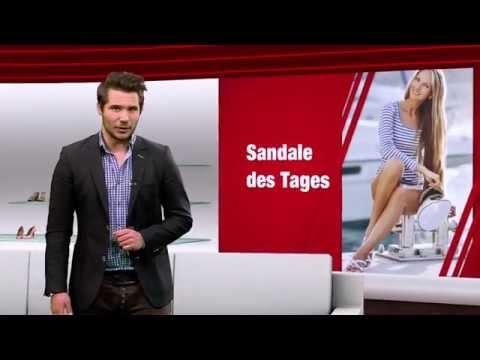Damen Sandalen in Übergrößen. Große Damenschuhe bei schuhplus. Schuh des Tages - 09.12.2014