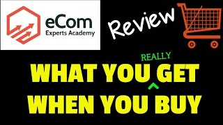 Ecom Experts Academy Review & Bonus - What do you really get? - Sneak Peak At Members Area!