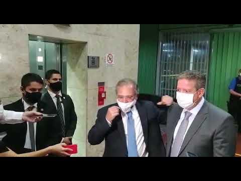 Lira e Guedes se reúnem para tratar da pauta de reformas – 04/02/21
